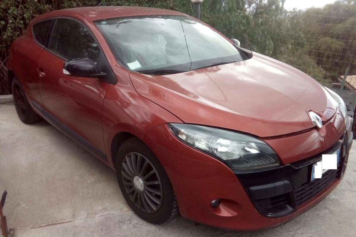 FRONTALE RENAULT MEGAN COUPE 2011 1500 dci 110cv